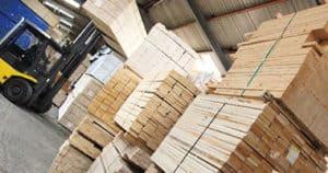Fichtenrahmen Möbelindustrie